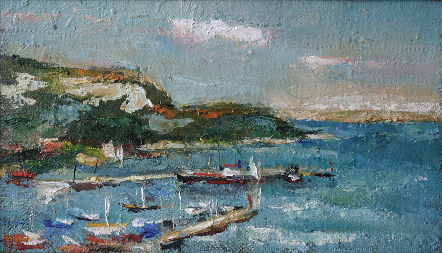 Oil on Canvas 40x15 cm