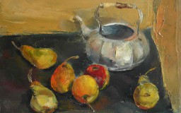Kettle With Pears
