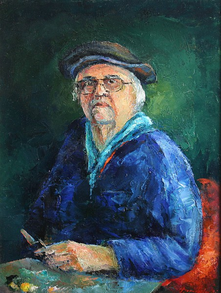 Self-portrait 45x60cm