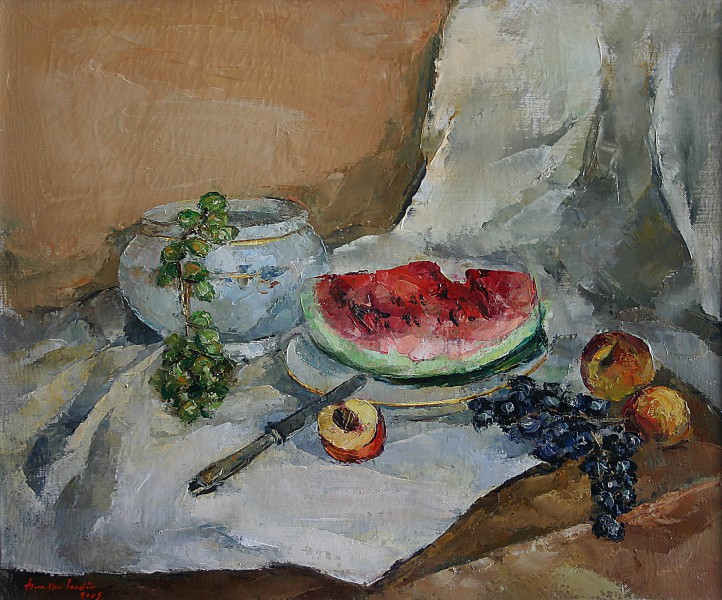 still life with fruits 50x60cm