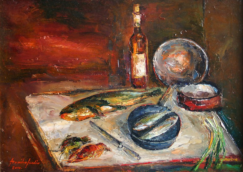 still life with poor 70x50cm